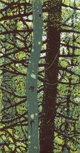 """""""Forest""""  9 13/16"""" x 5 1/4"""""""